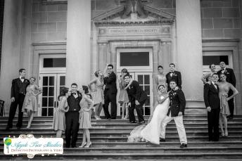 Chicago History Museum Wedding-15