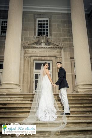 Chicago History Museum Wedding-16
