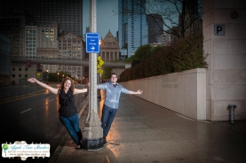 Millenium Park Chicago Engagement Photos-18