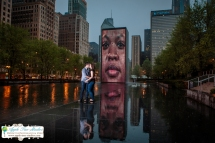 Millenium Park Chicago Engagement Photos-22