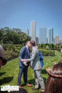 Grant Park Rose Garden Chicago Wedding-17