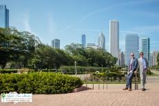 Grant Park Rose Garden Chicago Wedding-23