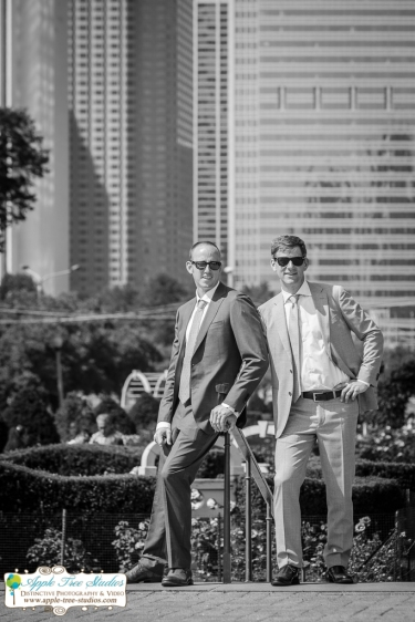 Grant Park Rose Garden Chicago Wedding-25