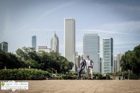 Grant Park Rose Garden Chicago Wedding-27
