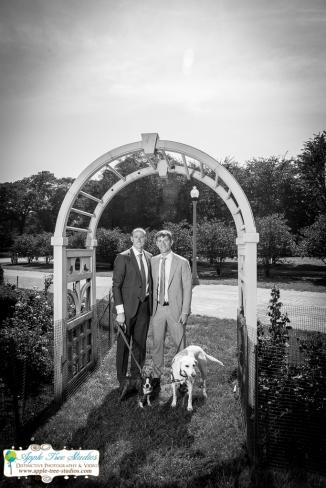 Grant Park Rose Garden Chicago Wedding-30